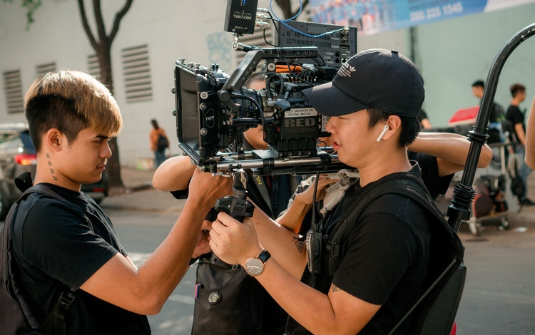 movie production assistant role