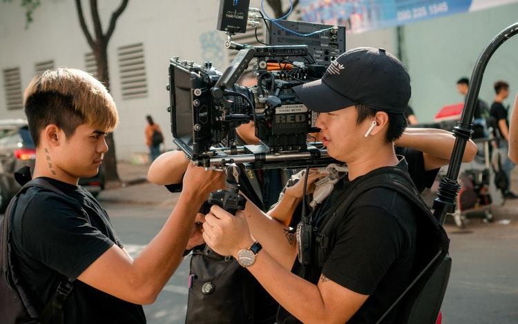 movie production assistant role