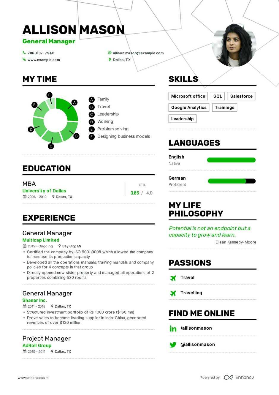 It Project Manager Resume With Samples 6 Perfect Samples