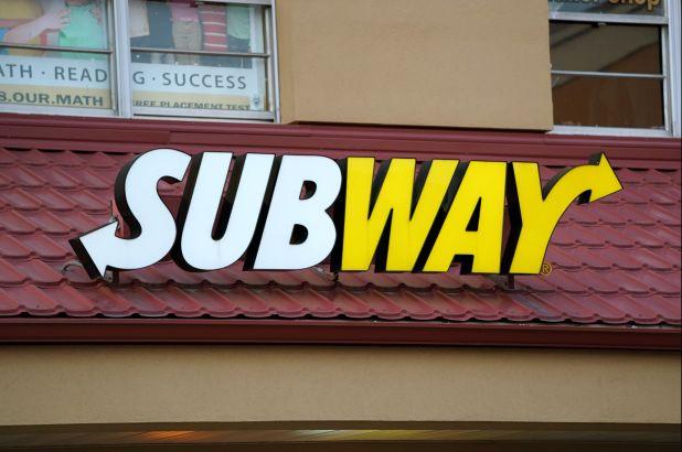 working at subway
